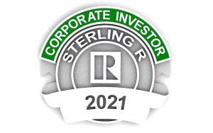 Realtor RPAC Sterling R corporate investor pin 2021